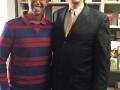 With Brazilian campus leader Cayo (Salvador)