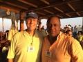 With Mark Bailey (Jamaica) on Sea of Galilee