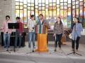 Worship Team in La Paz