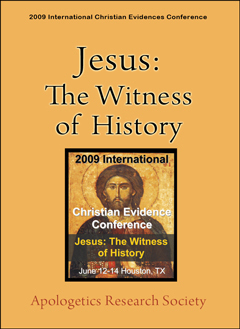 ICEC 2009 Jesus: The Witness of History